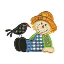 Scarecrows Applique