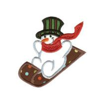 Simply Snowmen Applique