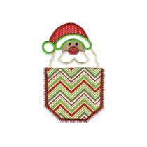 Christmas Pockets Applique