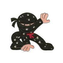 Super Ninjas Applique
