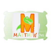 Dinosaur Bite Alphabet