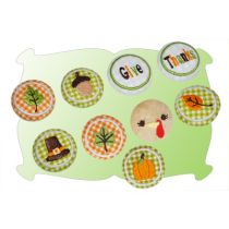 Fall and Thanksgiving Button Covers