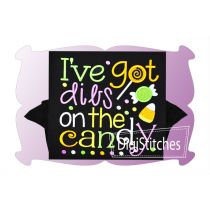 Ive Got Dibs On The Candy Applique