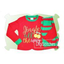 Jingle All The Way Applique