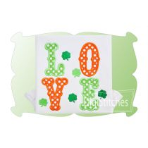 Love Saint Patricks Applique