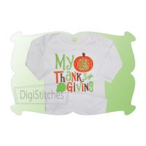 My First Thanksgiving 2 Applique