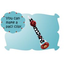 How to Make a Pacifier Clip Tutorial