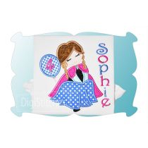 Pretty Princess 2 Birthday Applique