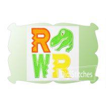 RAWR Applique