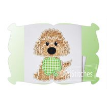 Saint Patricks Day Dog Boy Applique