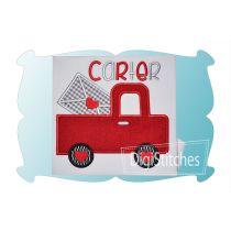 Valentines Day Truck Applique