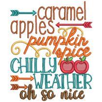 Harvest Fun 2 Machine Embroidery Designs By JuJu