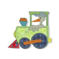 Choo Choo Baby Applique