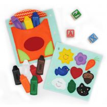 Busy Book Page Crayons Coloring Deluxe