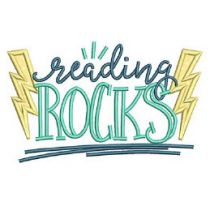 Reading Word Art Set 3 Machine Embroidery Designs by JuJu