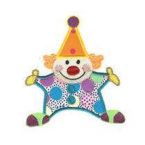 Free Applique Clown Machine Embroidery Design
