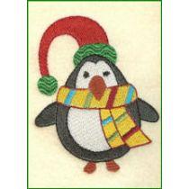 Free Penguin Machine Embroidery Design