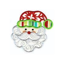 Here Comes Santa Claus Applique