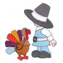 Thanksgiving Sunbonnets Filled