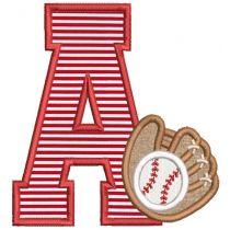 Baseball Glove Alphabet