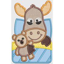 Bedtime Snuggles Digital Machine Embroidery Designs by JuJu
