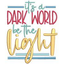 Be The Light Word Art