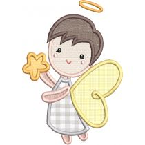 Boy Angels Applique