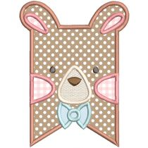 Boy Woodland Animal Flags Machine Embroidery Designs By JuJu