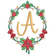 Christmas Garland Monogram