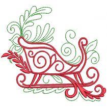 Elegant Christmas Motifs 1 Machine Embroidery Designs by JuJu