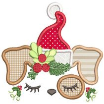 Christmas Toppers Machine Embroidery Designs By JuJu