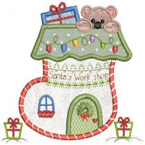 Christmas Village 2 Machine Embroidery Designs By JuJu