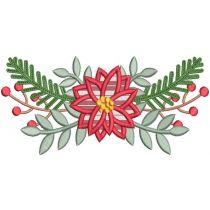 Christmas Wreaths Laurels Machine Embroidery Designs By JuJu