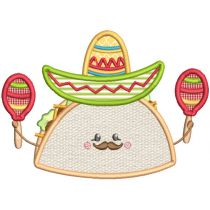 Cinco de Mayo Machine Embroidery Designs by JuJu