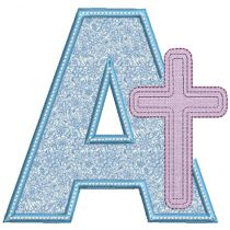 Cross Applique Alphabet