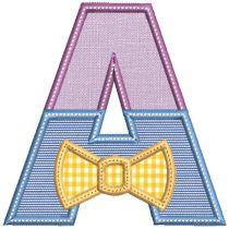 Dressy Bow Tie Split Alpha