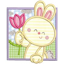 Easter Squares 2 Machine Embroidery Designs By JuJu