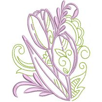 Elegant Easter Motifs 2 Machine Embroidery Designs by JuJu