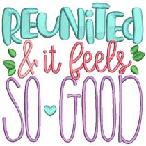 Family Reunion Sayings 2 Machine Embroidery Designs by JuJu