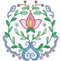 Folk Art Floral Motifs 1