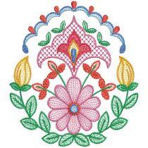 Folk Art Floral Motifs 2