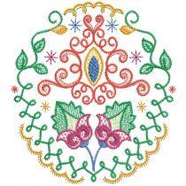 Folk Art Floral Motifs 3