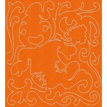 Free Motion Halloween Blocks Machine Embroidery Designs by JuJu