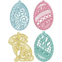 Free Standing Lace Easter 1