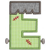 Halloween Applique Alphabet Machine Embroidery Designs By JuJu