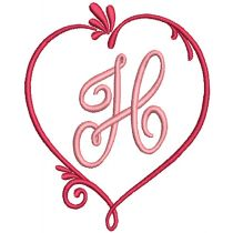 Hearts Delight Monogram