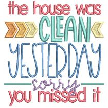 House Cleaning Word Art