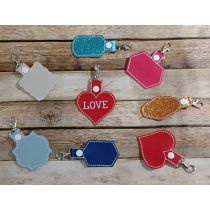 Blank Shapes Key Fobs ITH 4
