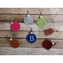 Blank Shapes Key Fobs ITH 5