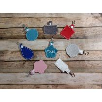 Blank Shapes Key Fobs ITH 3